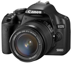 Canons EOS 500D