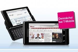 T Mobile Austria Schnappt Sich Motorola Milestone Smartphones