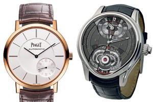 links: Piaget rechts: Montblanc