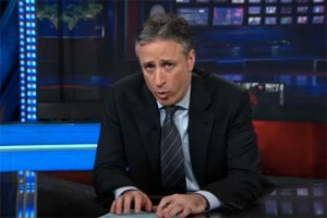 """The Daily Show"" auf Comedy Central"