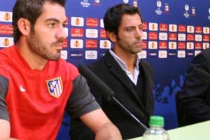 ...und Quique Flores' Atletico Madrid...