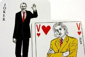 Französisches Kartenspiel Rätsel