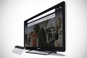 """Sony Internet TV"" mit Google TV"