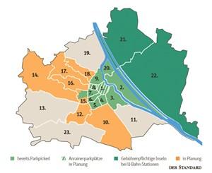 Jedem Bezirkskaiser Sein Parkpickerl Parken In Wien Derstandard
