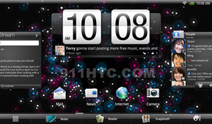 Android 3.0 mit HTC-Interface