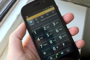 Forfone am Android-Smartphone Nexus S