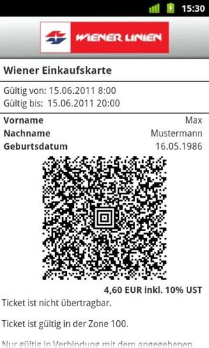 Wiener Linien Smartphone App Statt Papiertickets Innovationen