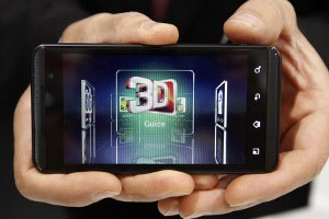 Android-Smartphone LG Optimus 3D