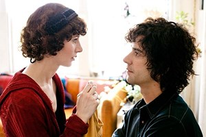 Regisseurin und Darstellerin Miranda July und Co-Star Hamish Linklater 
