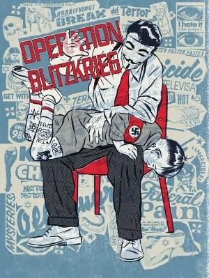 "Anonymous-Illustration zur ""Operation Blitzkrieg"""