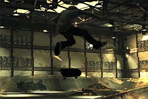 Tony Hawk in gewohnter Manier