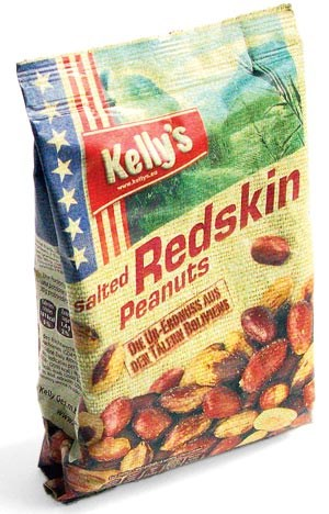 Kelly's Salted Redskin Peanuts, 145 g / € 1,89 z. B. bei Billa