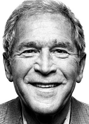 """Private Club of Power"": der frühere US-Präsident George W. Bush,  und"