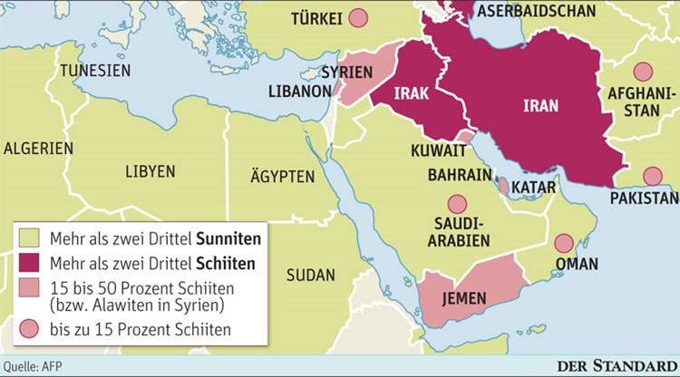 Schiiten Sunniten