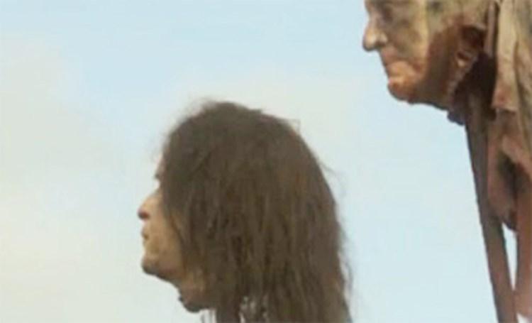 HBO hat Ärger wegen Bush-Kopf in \