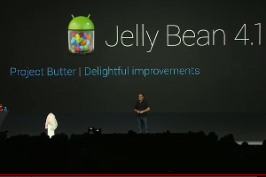 "Android 4.1 ""Jelly Bean"" wurde offiziell angekündigt."