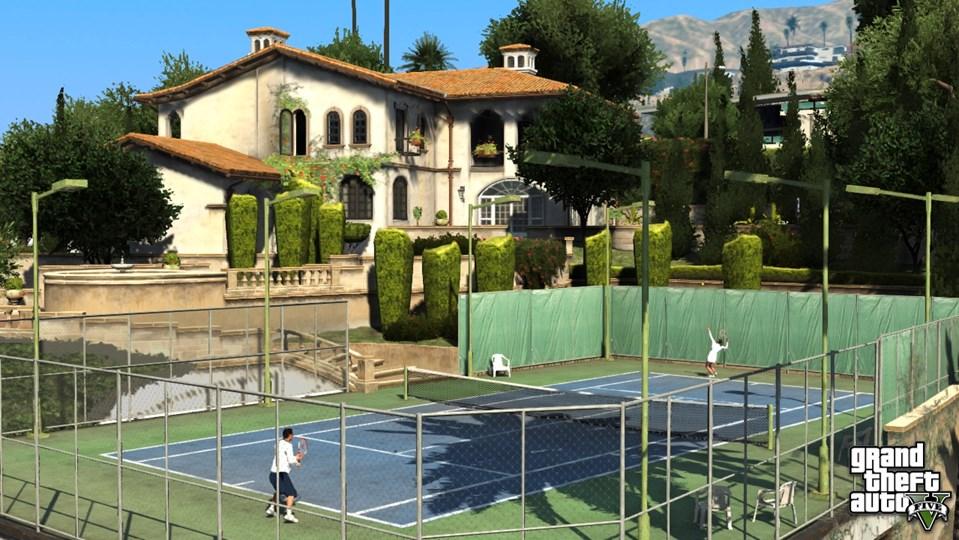 grand theft auto 5 mit tennis und paragleiten games web. Black Bedroom Furniture Sets. Home Design Ideas