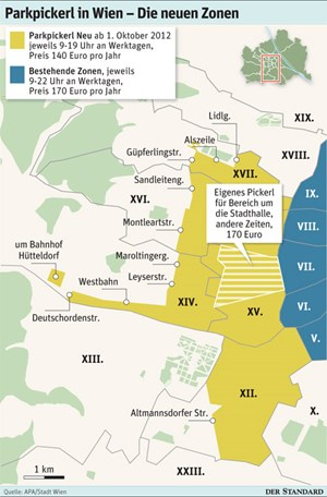 Neues Parkpickerl In Wien Das ändert Sich Parken In Wien