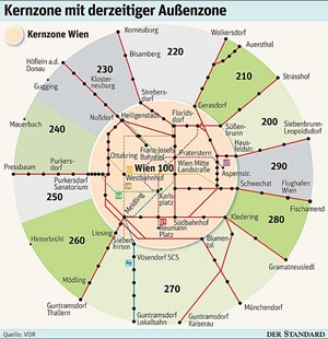 Parkpickerlstreit In Wien Blick über Den Zonenrand Parken In Wien