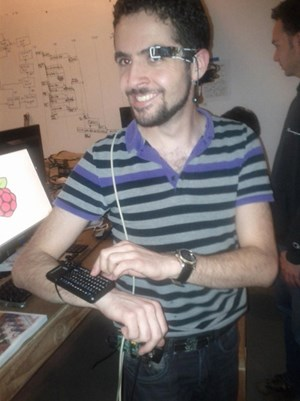 Ein hervorstechendes Projekt: The wearable Raspberry Pi