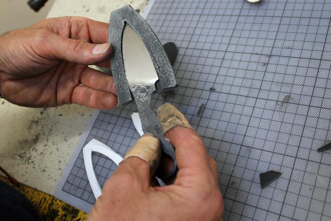 Messer Schmieden Mit Michael Blank Seite 1 Atelierbesuche