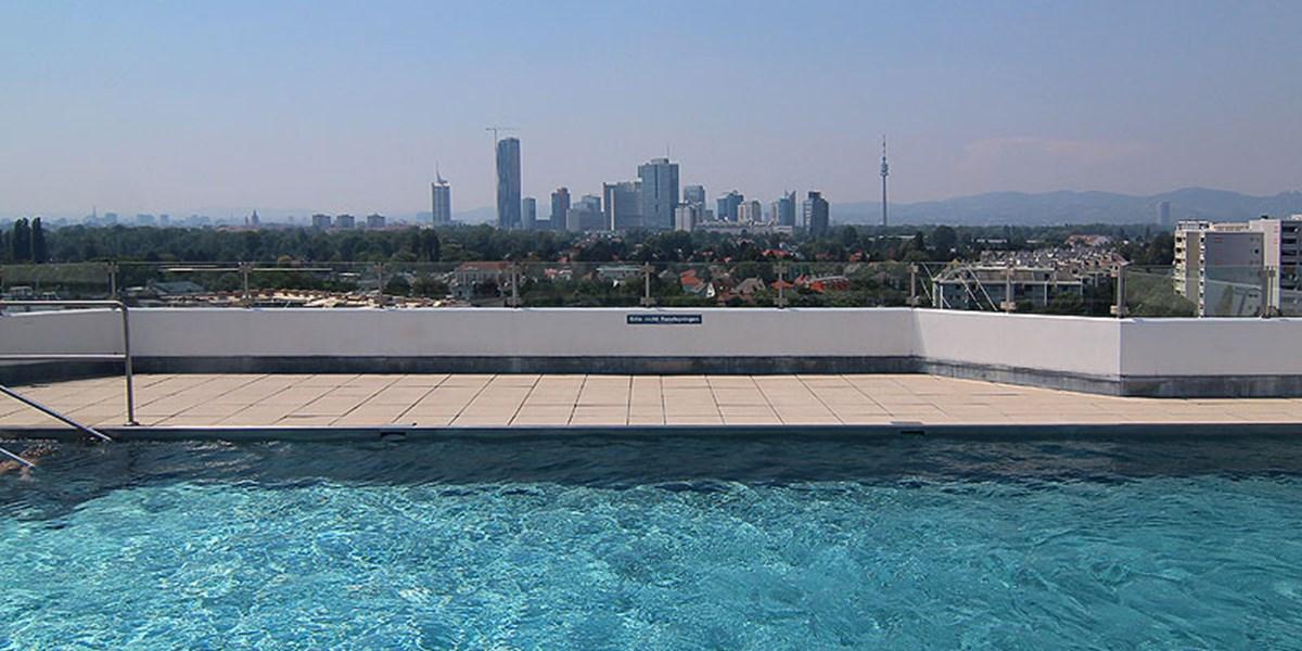 Pool Mit Dach bei hitze aufs dach: die schönsten pools in wien [seite 1