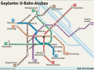 Pläne Für U5 Von Hernals Bis In Die Innenstadt öffis In Wien