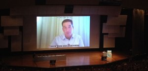 Journalist oder Aktivist? Glenn Greenwald am 30c3-Kongress.