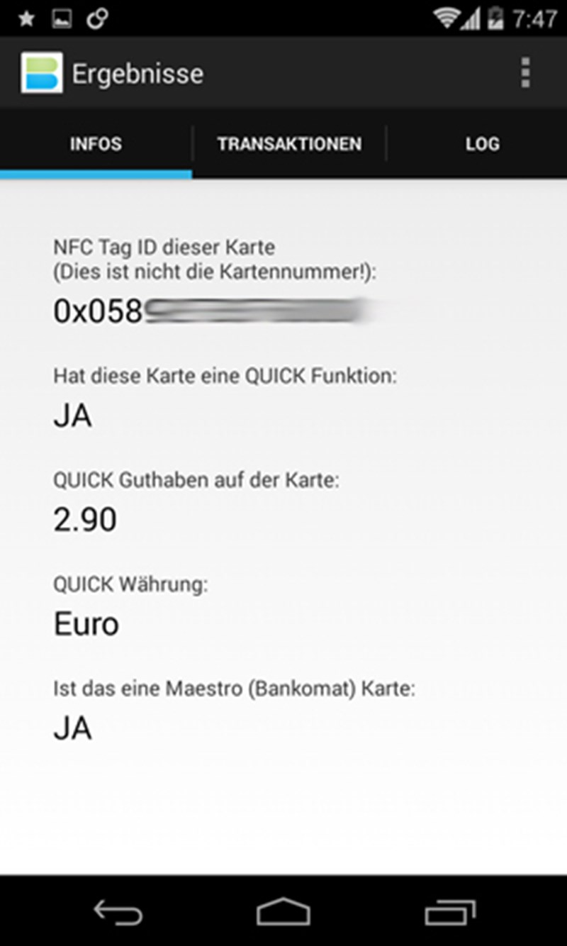 Nfc Karte Kopieren.Smartphone App Liest Bankomatdaten Aus Netzpolitik