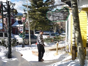 Ein Cannabis-Club im Skiort Breckenridge in den Rocky Mountains.