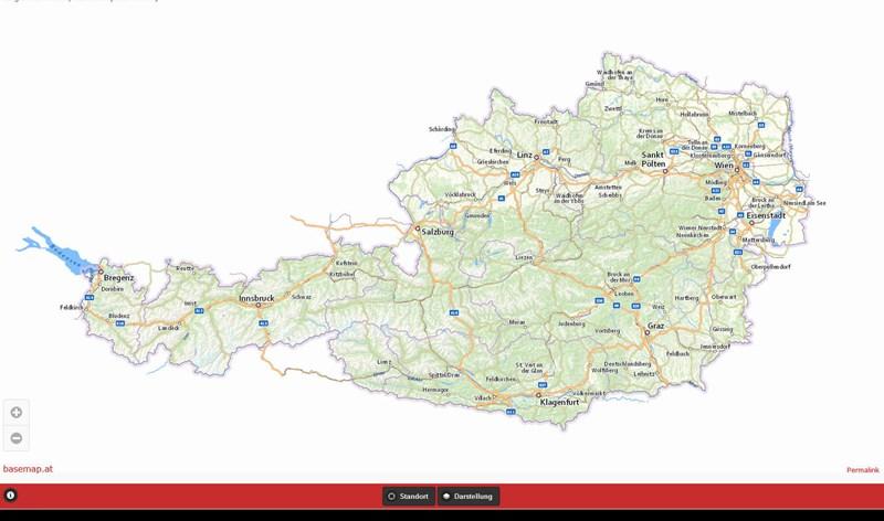 Karte Mit Hausnummern.Basemap Alternative Zu Google Maps Für österreich It Business