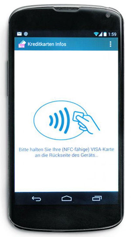 Nfc Karte Kopieren.Smartphone App Kann Uber Nfc Kreditkartendaten Auslesen