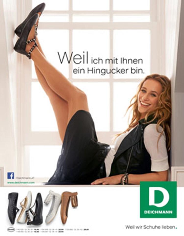 Schuhe Deichmann Werbung