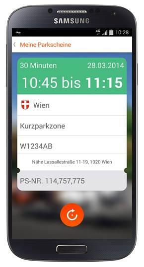 Handy Parken In Wien Neue App Macht Sms überflüssig Mobilfunker
