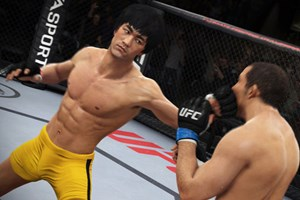 "Bruce Lee in ""EA Sports UFC"""