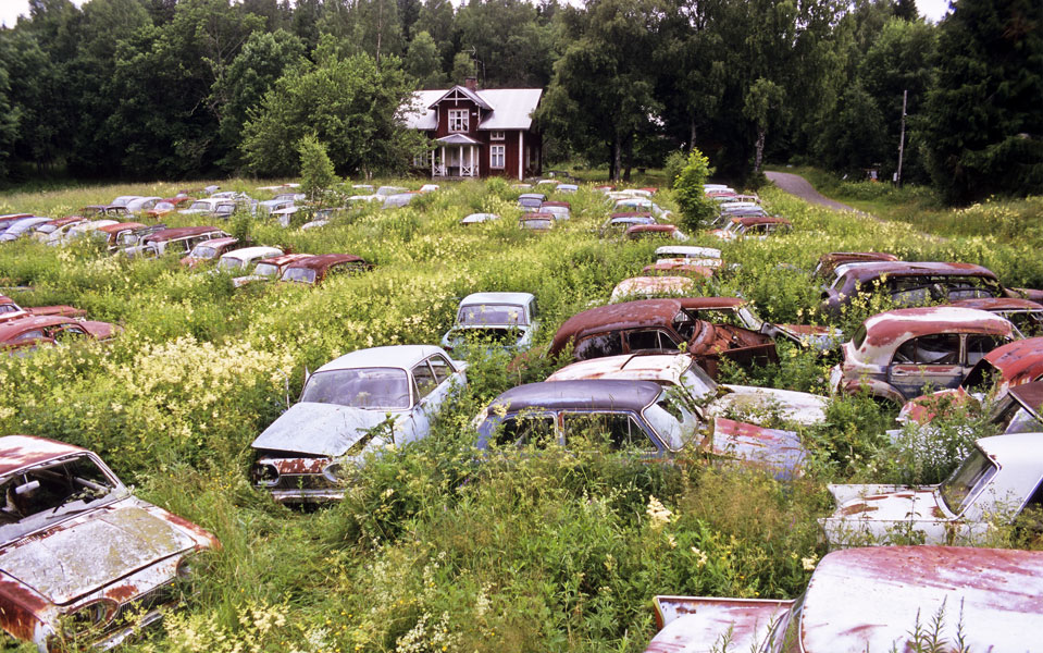 Autofriedhöfe