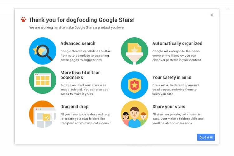 Klassische Startseite Google