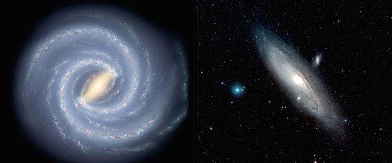 Masse Milchstraße