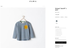 Zara Entfernt Kindershirt Nach Twitter Protest Netzpolitik