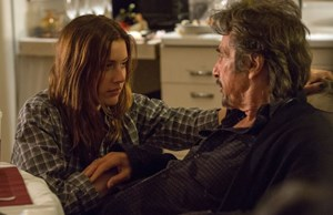 "Greta Gerwig und Al Pacino in der Philip-Roth-Verfilmung ""The Humbling""."