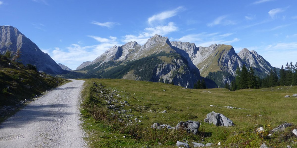 Karwendel: Von Hütte zu Hütte mit Hirschröhren