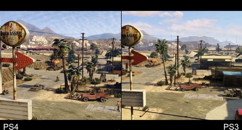 Grand Theft Auto 5 So Viel Schöner Ist Das Gangster Epos Auf Ps4