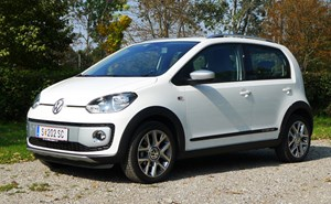 Markante Optik im Dienste des Lifestyle: VW Cross up!
