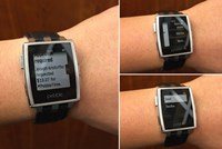 Pebble mit Android Wear-Support. Offenbar sehr 1337!