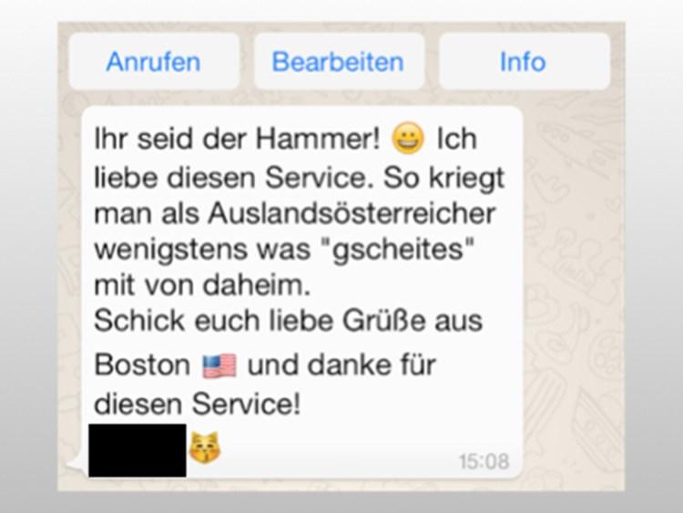 Fragen Und Antworten Zum Whatsapp Service Von Derstandardat