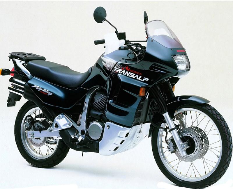 30 Jahre Honda Transalp Und Africa Twin Motorrad