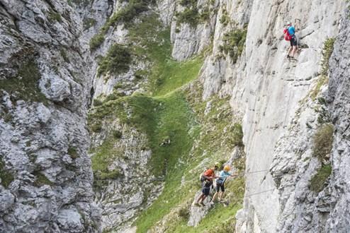 Klettersteig Seewand : Kletterboom: der kick in den bergen und seine gefahren reisetipps