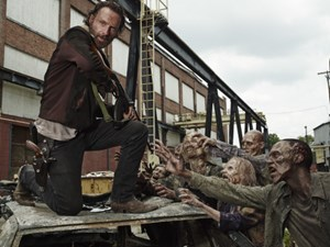 "Andrew Lincoln als Rick Grimes in der Mutterserie ""The Walking Dead""."