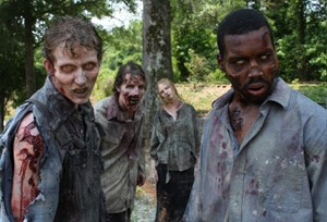 "Zombies aus ""The Walking Dead""."