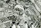 """""""stadtplan von wien im jahre 3000"""", © archiv künstlerhaus"""